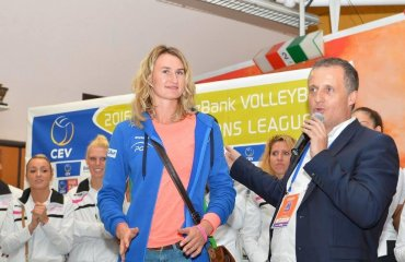 Українка Оля Савенчук змінила клуб волейбол, українка, ольга савенчук, 2015, Rocheville LE CANNET, франція
