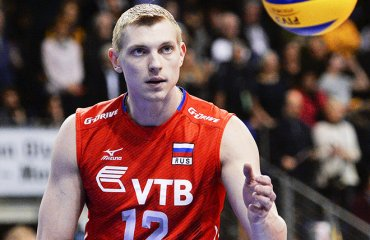 Константин Бакун: французы рано поверили в победу волейбол, Константин Бакун, диагональный, зборна России