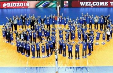 Мировая олимпийская квалификация: участники известны волейбол, квалификация, олимпийские игры, континентальный отбор