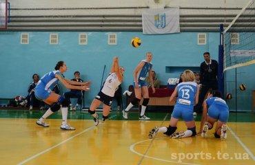 Галичанка виграла тільки один матч ВК Галичанка,  Континіум-Волинь, суперліга, волейбол, жінки