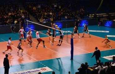 Результаты 9-ого тура российской мужской суперлиги Суперлига, волейбол, Россия, мужчины