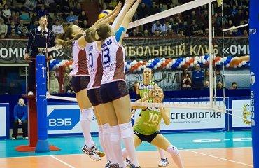 Результаты 9-ого тура российской женской суперлиги Суперлига, волейбол, женщины, Россия, результаты