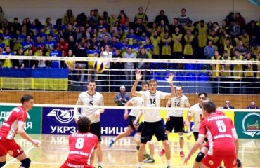 Локомотив победил словенцев в первом матче Кубка Вызова Локомотив(Х), Кальцит (Камник,Словения), Кубок Вызова, волейбол, мужчины