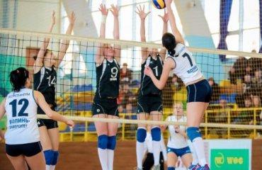 «Континіум»: дві непрості перемоги над «Педуніверситетом» Континіум-Волинь-Університет, Педуніверситет-ШВСМ, суперліга,жінки, волейбол