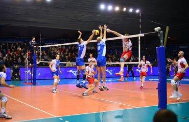 Результаты 10-ого тура российской мужской суперлиги Чемпионат России, Суперлига, мужчины, волейбол
