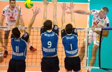 В мужской Лиге чемпионов завершился групповой турнир Лига Чемпионов, мужчины, волейбол, плей-офф