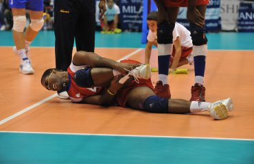 Травмы в волейболе. Часть I волейбол, травма голеностопа