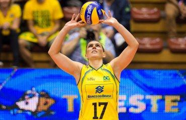 Фабиола мечтает сыграть на олимпиаде в Рио Фабиола де Соуза, олипийские игры, волейбол, женщины