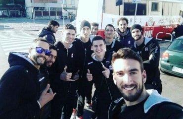 «Селфи» с «Мачератой» волейбол, мужчины, инстаграм, италия, мачерата, селфи