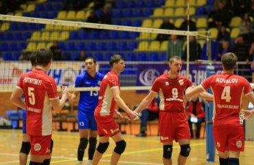 Результаты первых матчей 10 тура Суперлиги Украины. Мужчины волейбол, мужчины, суперлига