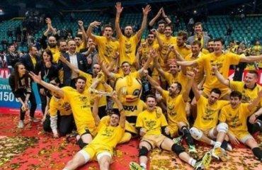 «СКРА» - обладатель Кубка Польши волейбол, польша, кубок польши, скра