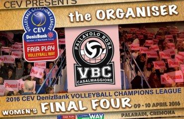 Финал переносится в другое место Финал четырёх, лига чемпионов, волейбол, женщины