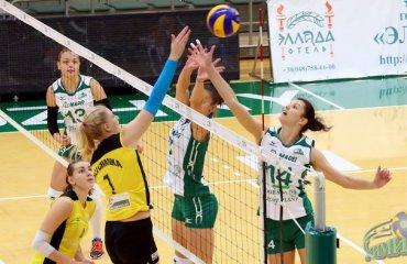 Чемпион Украины принимает 4 команду текущего чемпионата Суперліга, 11-й тур, жінки, волейбол, Хімік, Галичанка