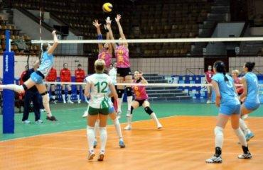 Первый матч в Северодонецке с апреля 2014 года волейбол, женщины, суперлига