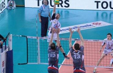 «Белогорье» разгромило «Тур» в первом матче «Раунда 12-ти» Белогорье, Тур, Лига Чемпионов, волейбол, мужчины