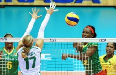 Сборная Камеруна дебютирует на Олимпиаде в Рио волейбол, рио, олимпиада