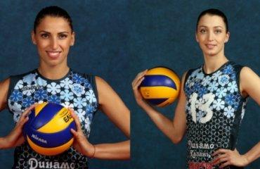 Василева и Старцева продлили контракт с «Динамо-Казань» волейбол, женщины, россия