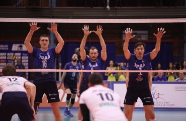 Результаты 16-го тура российской мужской суперлиги волейбол, мужчины, суперлига, россия