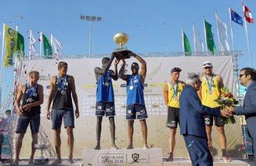 На острове Киш завершился турнир по пляжному волейболу волейбол, мужчины