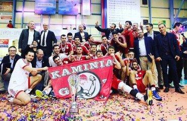 Кубок греческой лиги выиграл «Олимпиакос» (Пирей) Олимпиакос (Пирей), ПАОК (Салоники), волейбол, мужчины