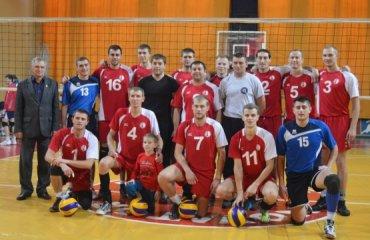 Хмельницький «Новатор» завершив перший етап чемпіонату України волейбол, мужчины, высшая лига