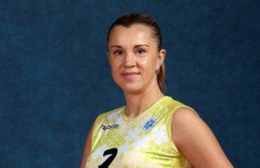 Ежова подписала контракт с «Динамо-Казань» ещё на год волейбол, женщины, суперлига, россия