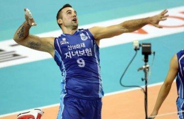 Трансляция матча чемпионата Кореи волейбол, мужчины, корея, трансляция
