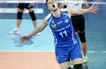 Трансляция матча чемпионата Южной Кореи волейбол, мужчины, трансляция