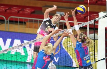 Анна Степанюк – 37 очок та путівка у півфінал Кубку ЄКВ волейбол, женщины, еврокубки