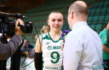 Юлия Бойко: «Я счастлива, что оказалась в «Химике» волейбол, женщины, суперлига