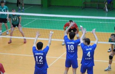Во втором матче поражение «Химпрома-СумДУ» со счетом 2:3 ВК Винница, Химпром-СумДУ