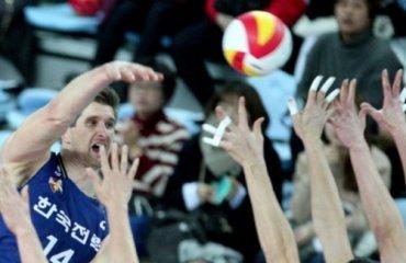 В Южной Корее известны все претенденты на чемпионство волейбол, мужчины, корея