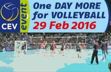 551 город принял участие в европейской акции «Ещё один день волейбола» волейбол