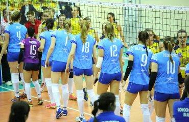 Локомотив победил Телеком Локомотив Баку, Телеком, волейбол, женщины