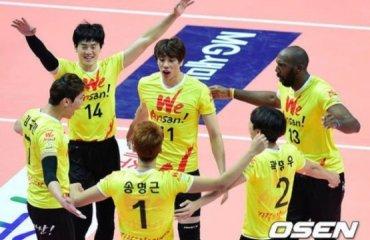 Трансляция матча чемпионата Южной Кореи – 03.03 12:00 волейбол, мужчины, корея, трансляция