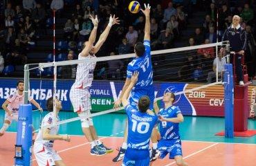 «Газпром-Югра» в полуфинале Кубка ЕКВ волейбол, мужчины, еврокубки, кубок екв