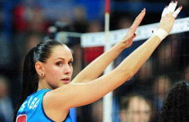 Наталия Гончарова: «У меня мечта поехать с ним в Европу» волейбол, женщины