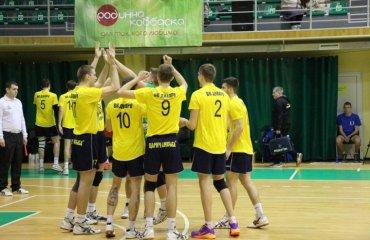 Барком и Днепр добились побед волейбол, мужчины, суперлига