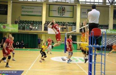 """Победа """"Химпрома"""" и другие результаты 13-го тура мужской Суперлиги Украины волейбол, мужчины, суперлига"""