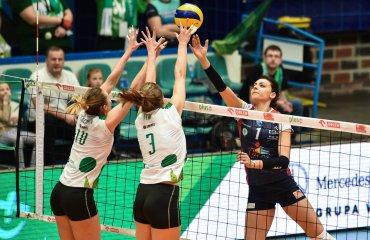 Хемик обеспечил себе первое место перед плей-офф, Зарослинска выводит Трефл на второе место Хемик, Трефл, волейбол, женщины