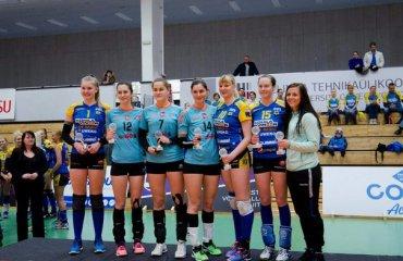 Українки Юлiя Молодцова та Катерина Дуднiкова здобули срiбло та золото жіночої Балтійської ліги волейбол, женщины, украинки