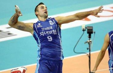 Трансляция матча чемпионата Южной Кореи – 10.03 12:00 волейбол, мужчины, корея, трансляция