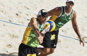 Занавес скоро опустится для Эмануэля Эмануель Рего, пляжный волейбол, мужчины
