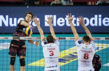 Серб Александр Атанасьевич стал самым результативным игроком регулярки в чемпионате Италии Атанасьевич, Морис Торрес, волейбол, мужчины