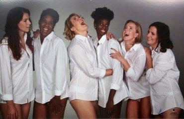 Фотосессия девушек из волейбольного клуба «Хемик Полице» волейбол, женщины, польща, фотосессия