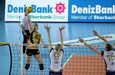 Вакифбанк в пяти партиях обыграл Волеро Вакифбанк, Волеро, волейбол, женщины