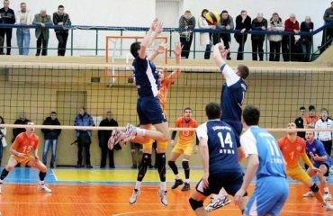 Химпром-СумГУ проходит во второй этап волейбол, мужчины, суперлига, украина