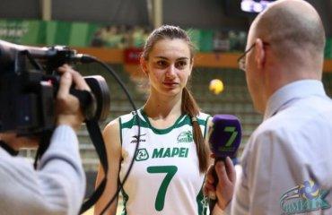 Инна Молодцова: «Собрать все силы, всю волю в кулак - и выиграть чемпионат» волейбол, женщины, суперлига, украина