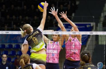 Анна Степанюк: «Волнение присутствует перед каждой игрой» волейбол, женщины, еврокубки, кубок екв