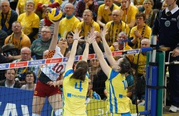 Галатасарай фавориты в ответном матче с Шверинером Галатасарай, Шверинер, волейбол, женщины